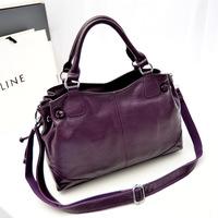 women leather handbags vintage bag shoulder bags women Five kinds of color is optional messenger bags