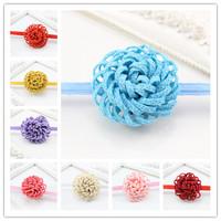 New Design Kids Flower Headbands for Girls Children Flower Hair Accessories Infant Headband Free Shipping