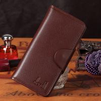 Genuine leather women's long design wallet multi card holder card holder cowhide wallet