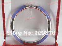 0029 Wonderful Purple Jade Bracelet Bangle AAA+
