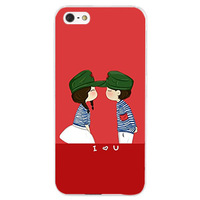 New Arrival mobile phone bags & cases For iphone 5s for iphone 5 Girl Boy PC Hard Case Cover Protector Free Drop Shipping