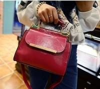 Women's handbag fashion bag elegant shoulder bag briefcase double faced messenger bag female bags