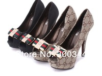NEW Fashion Sexy Women's Lady Shoes Party Pumps Stiletto platform High Heels Peep-toe Shoes Size Us 4-9
