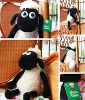 2014 hot children/kid boy/girl Cute Shaun the sheep lamb plush toys wholesale 25cm 1piece free shipping