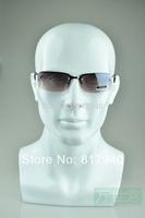 NEWEST!High quality Fiberglass plus size male mannequin dummy head for sunglass &Earphones&hat display