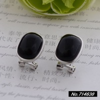 925 sterling silver jewelry vintage sterling silver earrings Little Miss Fang Xing new backing xh039754