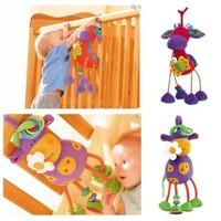 2014 NEW Germany TOLO Mavericks lathe hanging plush toys rattle wholesale appease free shipping