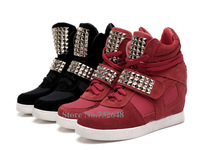Spring New 2014 Brand ASH Sneakers For Women Shoes Women Pumps Platform Wedges Genuine Leather Her Shoes