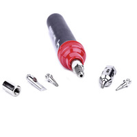 High quality fashion emergency repairs anti-slip hard rubber handle electric Soldering Iron pen torch