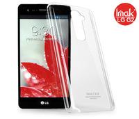 Free shipping Original Genuine Brand IMAK Super Thin Transparent Clear Crystal Shell Hard Case For LG Optimus G2 D801+Retail Box