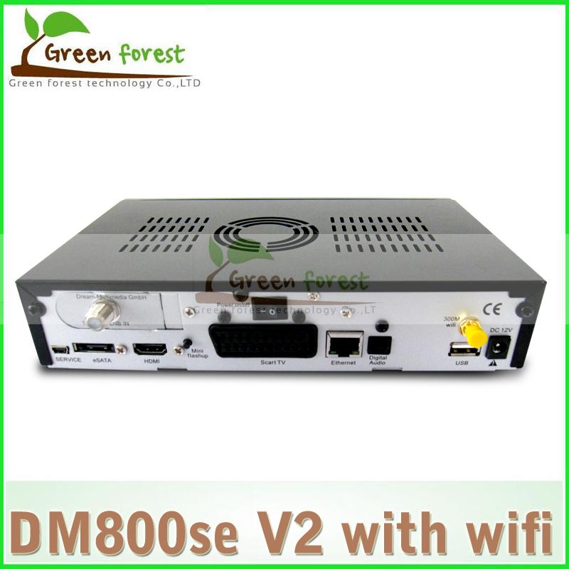 Enigma 2, Linux Operating System Receiver dm800se v2 wifi DM800 SE V2 PVR HDTV WIFI Sat Receiver DVB-S2/S(China (Mainland))