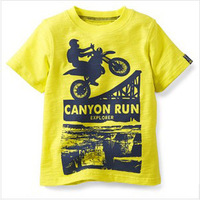 New 2014 casual t-shirt boy's fashion t shirt clothing Summer hot selling baby clothing t shirts children unisex clothes T5.