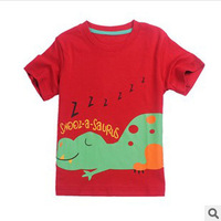 Free shipping New 2014 children t shirts , Short sleeve girls boys T-shirts, fashion round neck girls' tees cartoon Retail T057