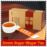 180g=15 Small Bags Green Chinese Coffee High Quality Brown Sugar Ginger Tea Quick Weight Loss Coffee Health Tea Free Shipping