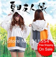 2014 New Hoodies natsume yuujinchou cats teacher hoodie sweater Jacket Mr. Cat cosplay hoodie Unisex for man and woman