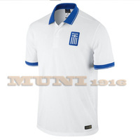 Greece 2014 Home Soccer Jersey,2014 World Cup Greece HOME Thailand Soccer Jersey.U.S. size: S-M-L-XL,Free shipping