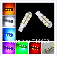 32X T10 194 168 192 W5W 13 SMD 5050 led Car reading door Light Automobile Instrument Lamp Wedge Interior clearance Bulbs