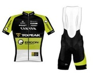 High quality! New 2014 Topeak Team Bike Cycling Jersey Short Sleeve and bicicleta bib Shorts ropa ciclismo clothing SZ#897