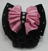 Bow rhinestone hair accessory hairpin hair accessory hair accessory