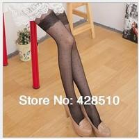 Top quility Lovely Girls princess Women Fashion Sexy Sheer Pantyhose Silk Stockings free shipping