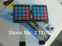 4 x 4 Matrix Keypad Membrane Switch 8 pins connector SCM Outside enlarge Keypad