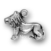 Hottest Novelty Free Shipping New Design Leo Lion Charms 186583
