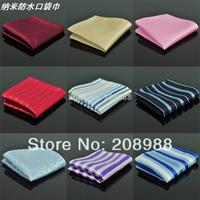 Fashion Nano waterproof pocket squares chest towel handkerchief free shipping 10pcs/lot #1650