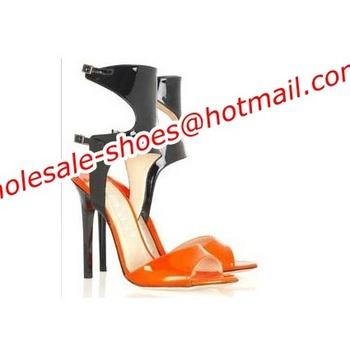2014 newest women sexy cut-outs high heel sandals designer thin heel sandals boots