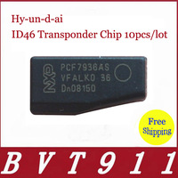 2014 Hot Selling  Car Key Maker Hyundai ID46 Transponder Chip 10pcs/lot Free Shipping with Three Years Warranty Hyundai ID46