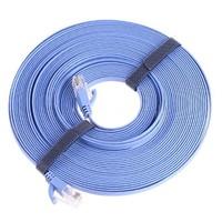 RJ45 CAT6 Flat Ethernet Patch Network Lan Cable 10m