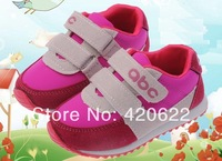 Spring fashion male female child casual slip-resistant single shoes baby breathable shoes sport shoes 3 colour