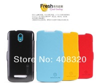 Original Nillkin Fresh Series Flip PU Leather Case For HTC Desire 500 506E With Retail Package, Free Shipping