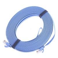 RJ45 CAT6 Flat Ethernet Patch Network Lan Cable 15m
