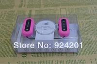 2pcs/lot,2014 New Arrival MINI Q5 Wireless FM Sports TF Card Slot headset  wireless Stero earphones FM SD/TF Music MP3 Player