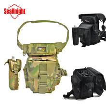 outdoor waist pack fishing bag multifunctional fishing tackle canvas waterproof(China (Mainland))