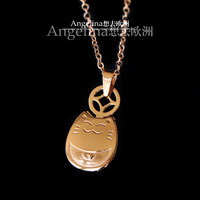 Free Shipping~New Arrival Jewelry 14K Rose Gold Plated Cute My Neighbor Totoro Cat Chocker Necklace