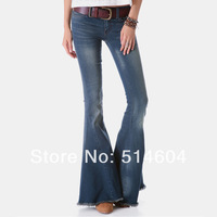 New Retro Classic Custom Jeans Slim Women's Exclusive Jeans Casual Jeans FeMale Custom Flare Pants Hot sale DW-002