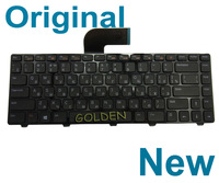 New Original For Dell Inspiron 14R M4110 N4110 Series RU Russian Keyboard Black
