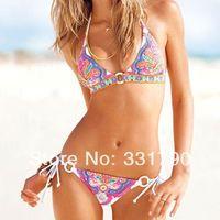 Free Shipping 801352 woman cutest retro swimsuit swimwear vintage pin up high wholesale