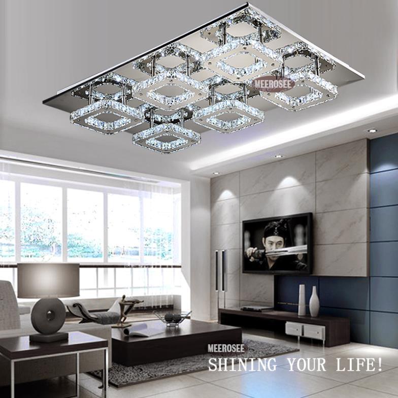 2014 tiempo- limited se apresuraron de hierro pantalla de la lámpara led de brillo de diamante de cristal de luz de techo de montaje de la lámpara para pasillo corredor de envío rápido