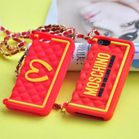 NEW Milan M Bag Design Silicon Back Case For Apple iPhone5 5S 4 4S