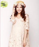 G Maternity lace Dress Vestidos Plus Size Casual Clothes Dresses For Pregnant Women Summer Spring Autumn Winter New Hot