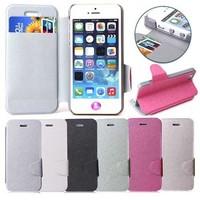 Ultra Flip SPIGEN SGP Leather Case for iphone 5 5S SGP Case