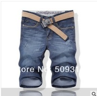2014 new summer thin section jeans Men's jeans Denim short pants Men's wear shorts Men five minutes pants jeans clothing