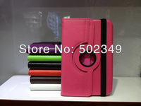 Plain/Pure Color 360 Degree Rotated Leather Cover Case for Samsung Note 8.0 P5100 Streak Pattern Wholesales New Hot 100pcs/lot