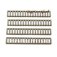 Funpowerland Heat ResistantHandguard Weaver Picatinny FDE Rail Ladder Cover