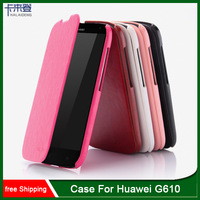 Orginal Brand Kalaideng Luxury Leather Flip Case Cover For Huawei G610 Series Cover with Retail Package