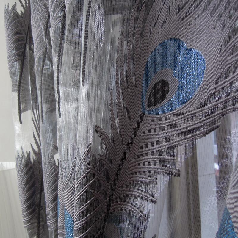 Peacock Blue Sheer Curtains Wedgewood Blue Sheer Cu