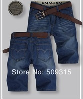 2014 Hot Brand Men's jeans shorts,Classic denim pants,Men summer pants.short pants.Men's denim shorts,Top quality size:28-38