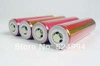 10PCS/LOT  Original sanyo 18650- 3.7V 2600 mAh Rechargeable Battery + Circuit Protection Board + Free shipping